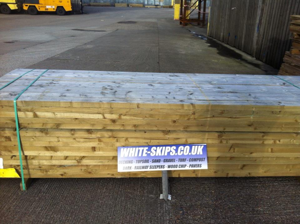 Decking suppliers hull whites skip hire hull 01482 227468 for 2 4 metre decking boards