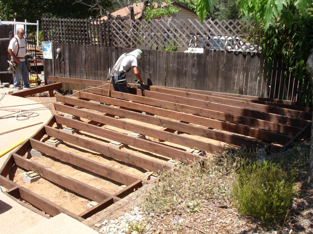 Our projects whites skip hire hull 01482 227468 for Wood deck ideas