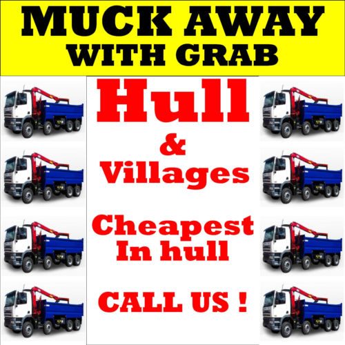 Grab hire Hull and muck aways soil removal