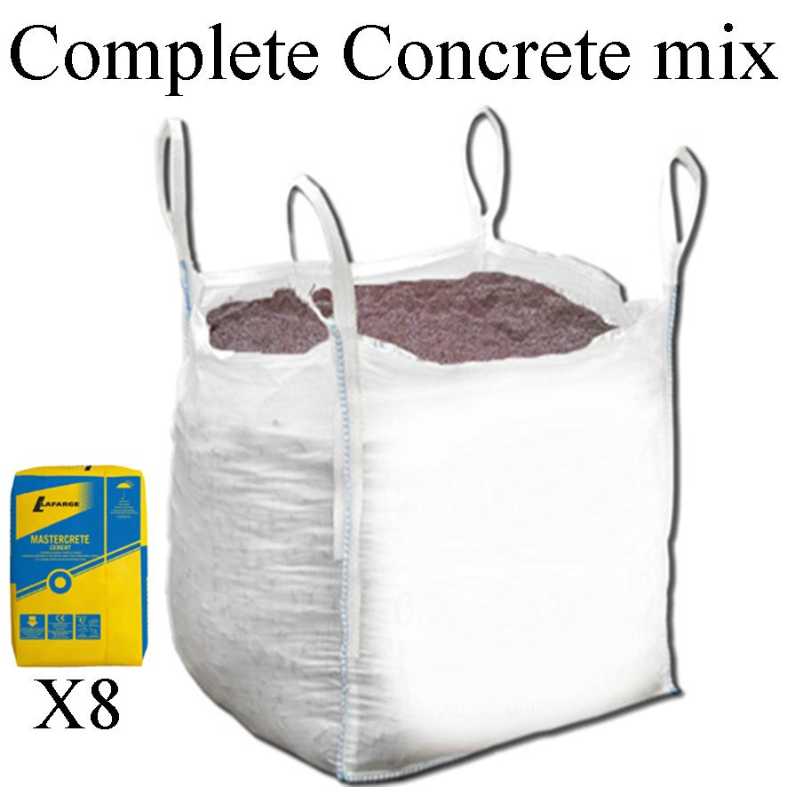 Concrete Mixing Bag : Gravel free delivery hull