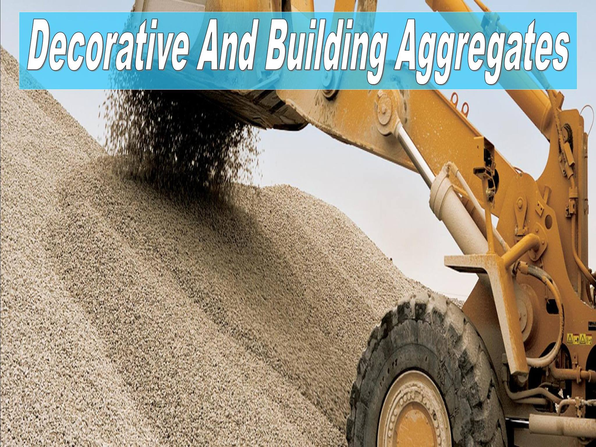 Decorative Aggregates And Chippings