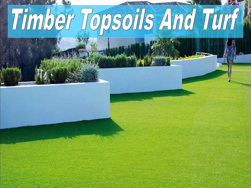 Topsoil Turf Artificial Grass And Railway Sleepers