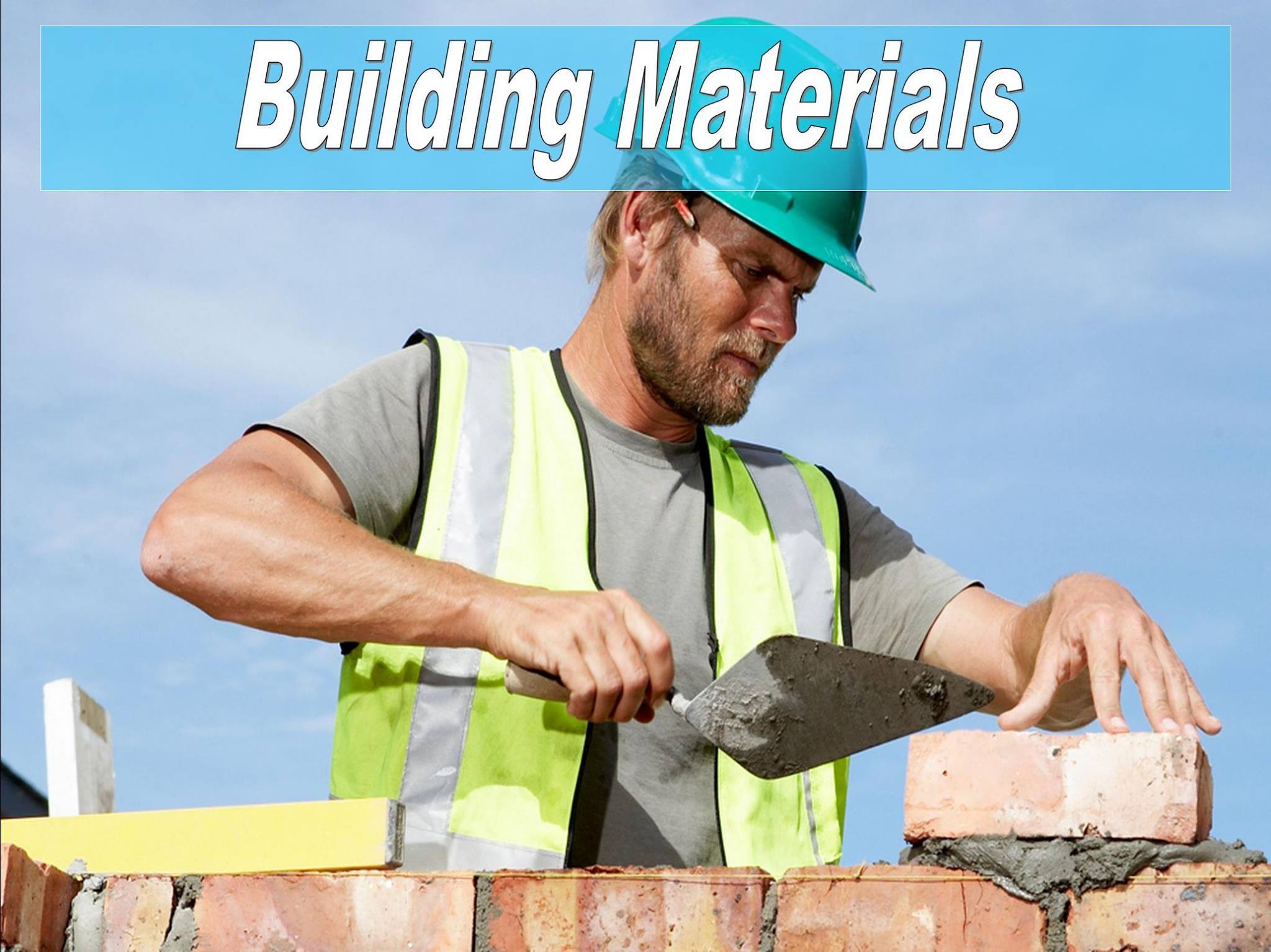 Building Materials And Aggregates